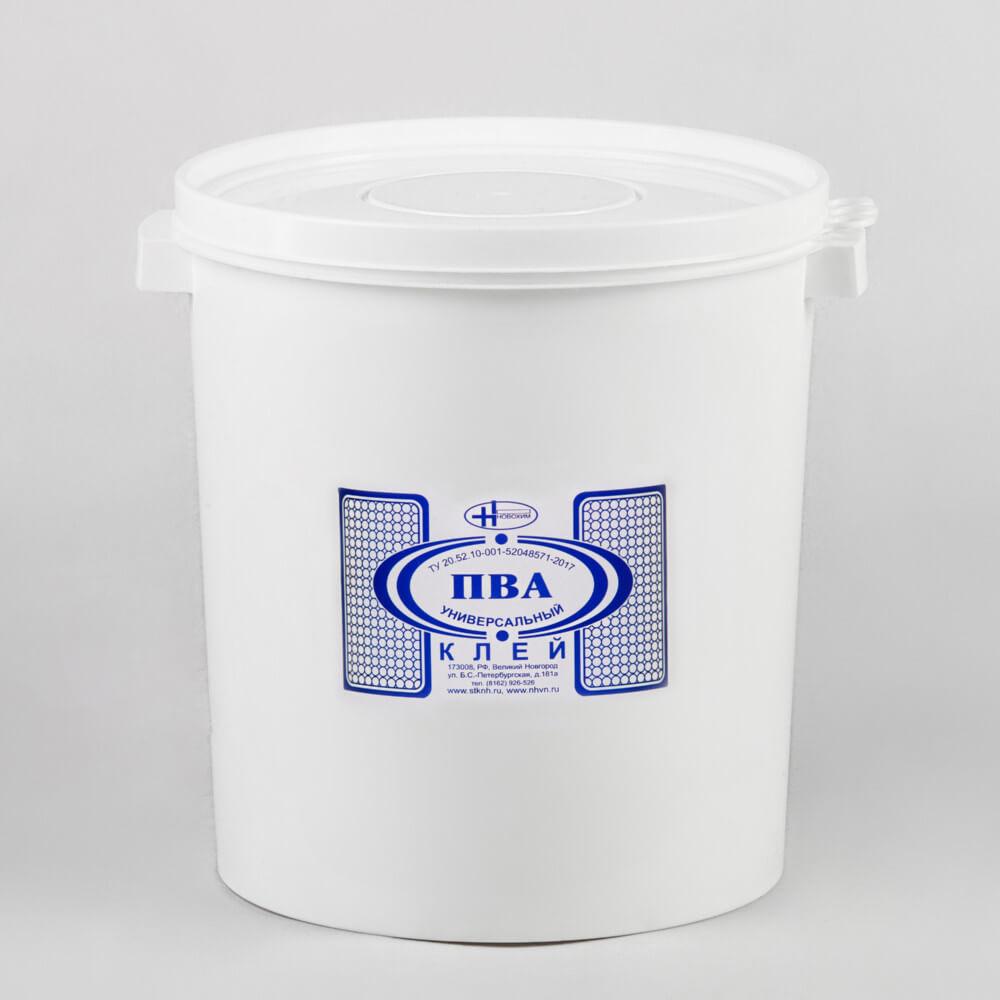 """Клей ПВА «Универсальный», 30 кг, контейнер ООО """"Новохим"""""""